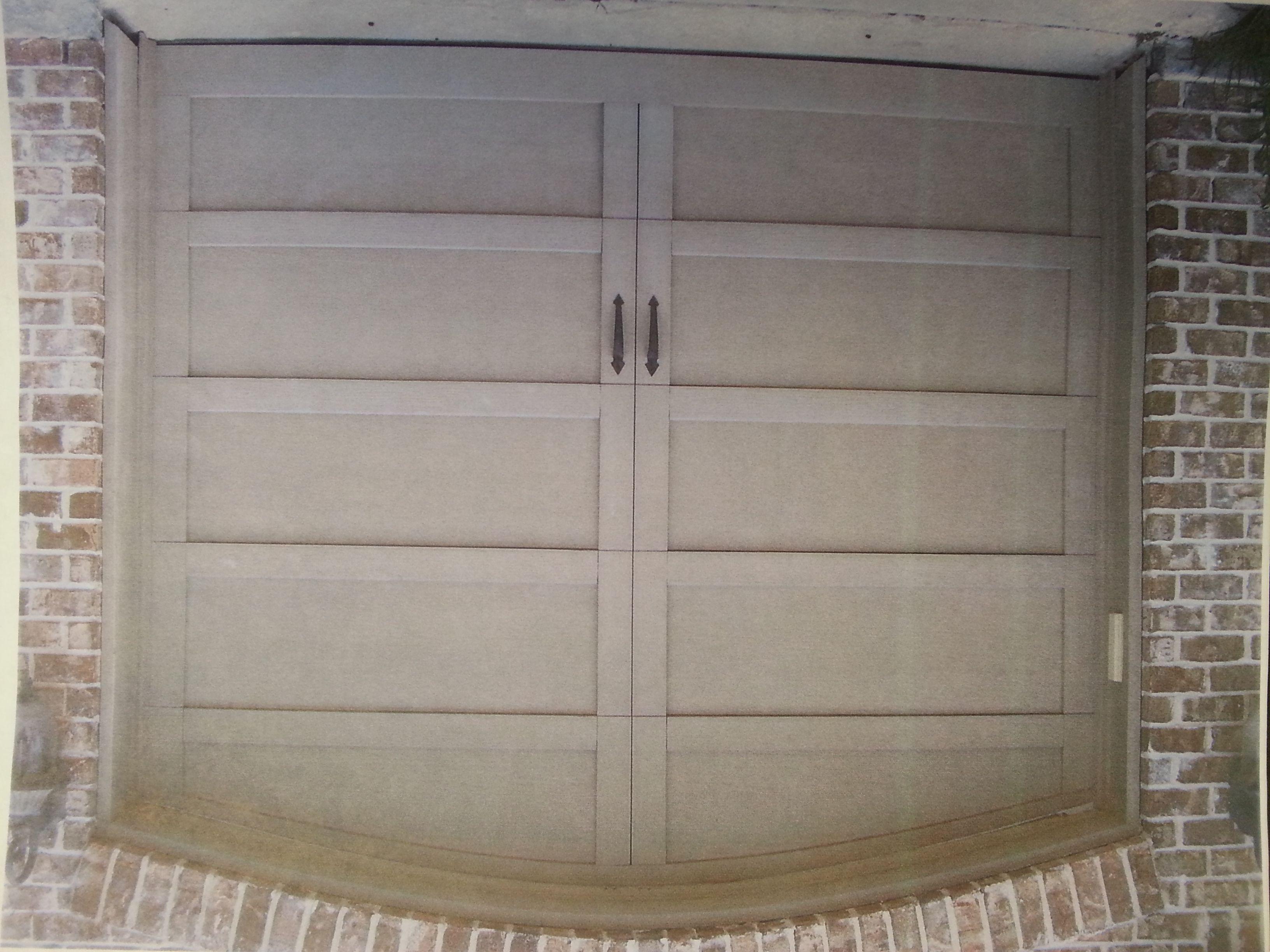 Custom Tech Trim Garage Door Built Overhead Door Beaumont Tx