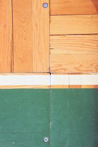Part Of The Parquet Floor From The Boston Garden See This Photo
