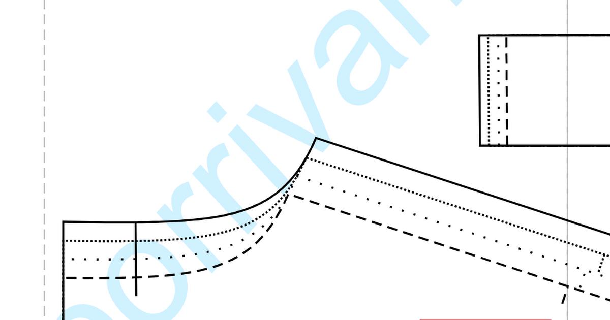 V Neck Dress (44-50).pdf | Crafts | Pinterest | Costura y Molde