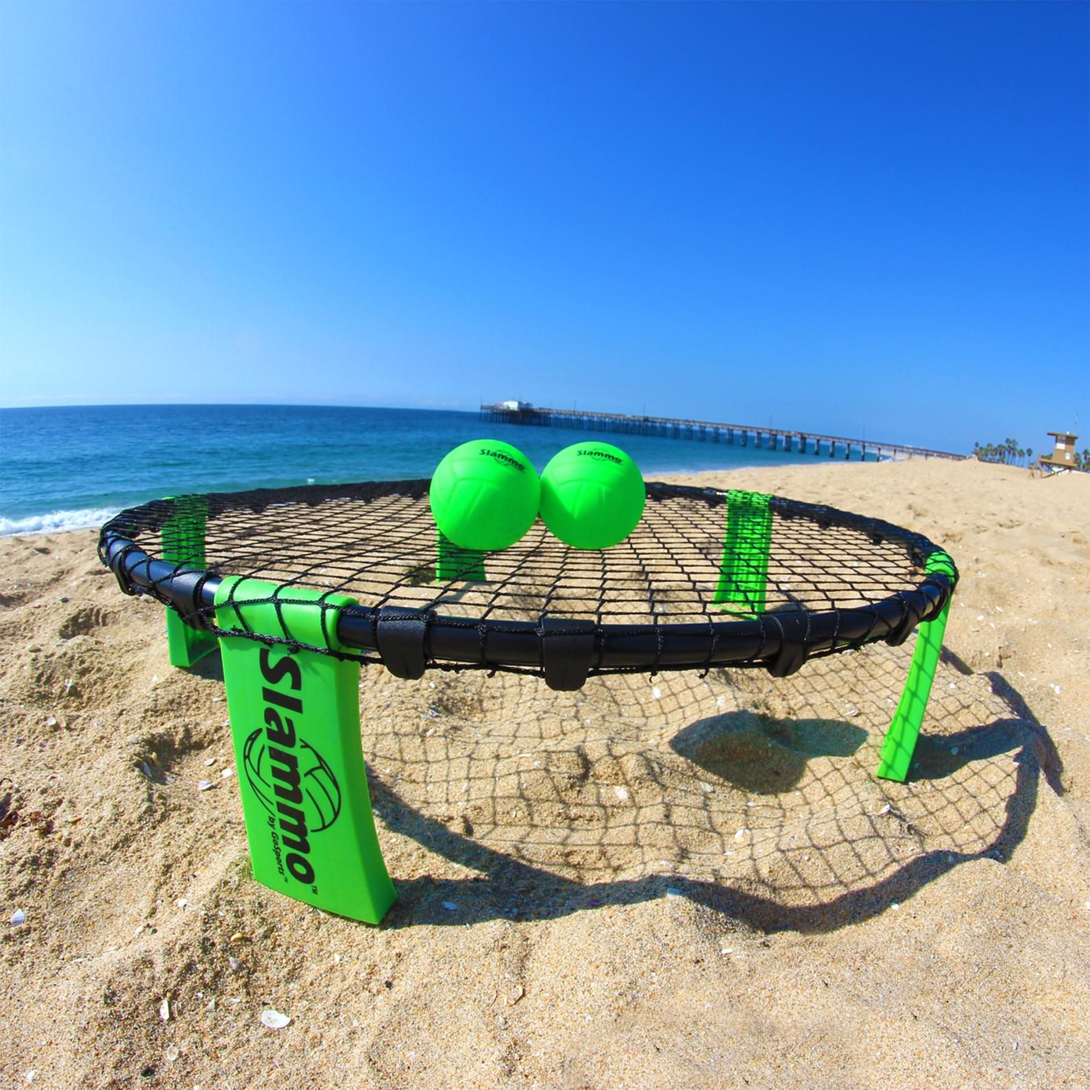 Gosports Slammo Set Includes 3 Carrying Case And Rules Sports Outdoors