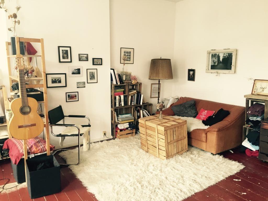Holzkiste Wohnzimmer