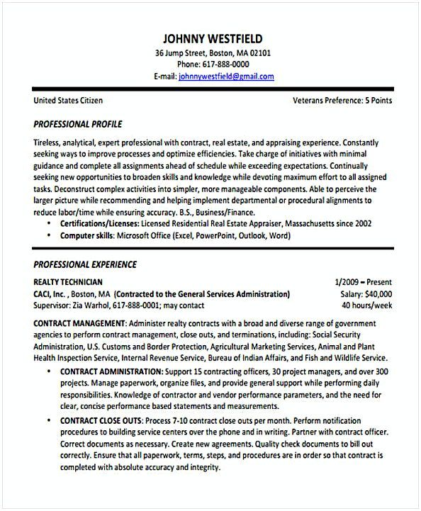 Contract Resume template , Change Management Resume , What to Know ...