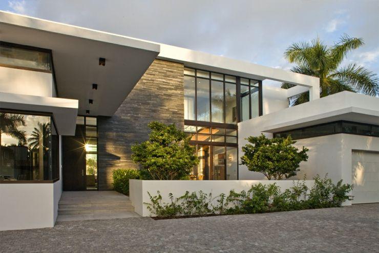 Maison contemporaine de standing située en Floride   Résidence ...