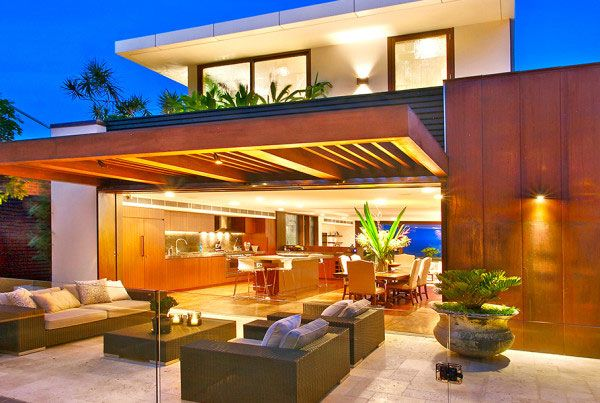 Stunning Indoor Outdoor Rooms Contemporary - Amazing House ...