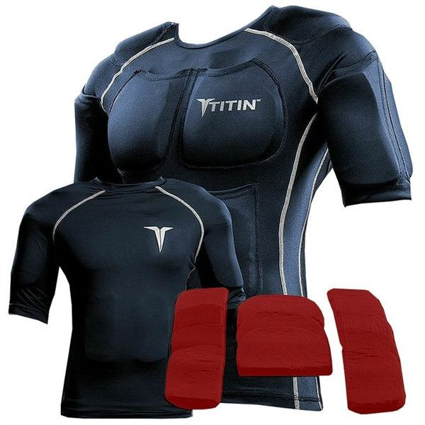 PREORDER WATERPROOF TITIN FORCE Weighted Shirt System