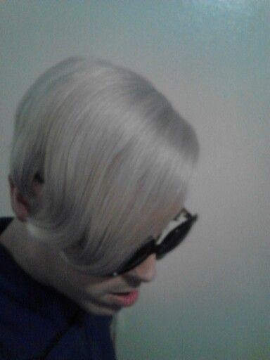 Wella 12a Frosty Ash Over Bleached Hair Bleached Hair Silver