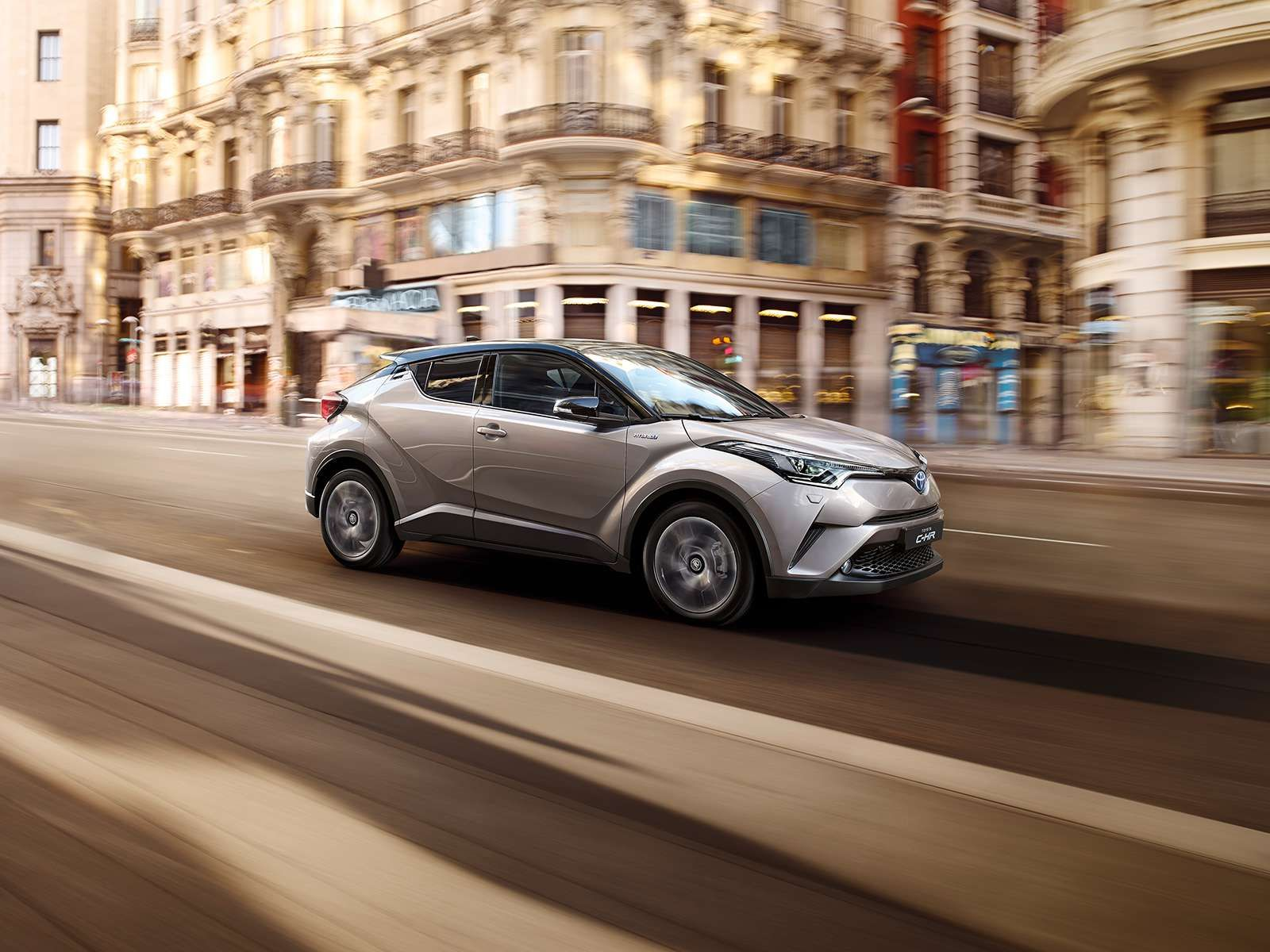 New toyota c hr coupe high rider hybrid crossover