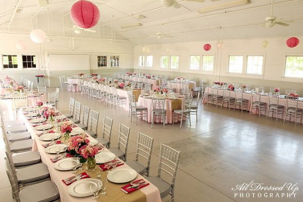 Do you like the idea of having long straight tables set up for guest ...