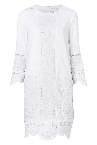 4dec8e818 Witchery Lace Spliced Dress   s t y l e   Dresses, Fashion outfits ...