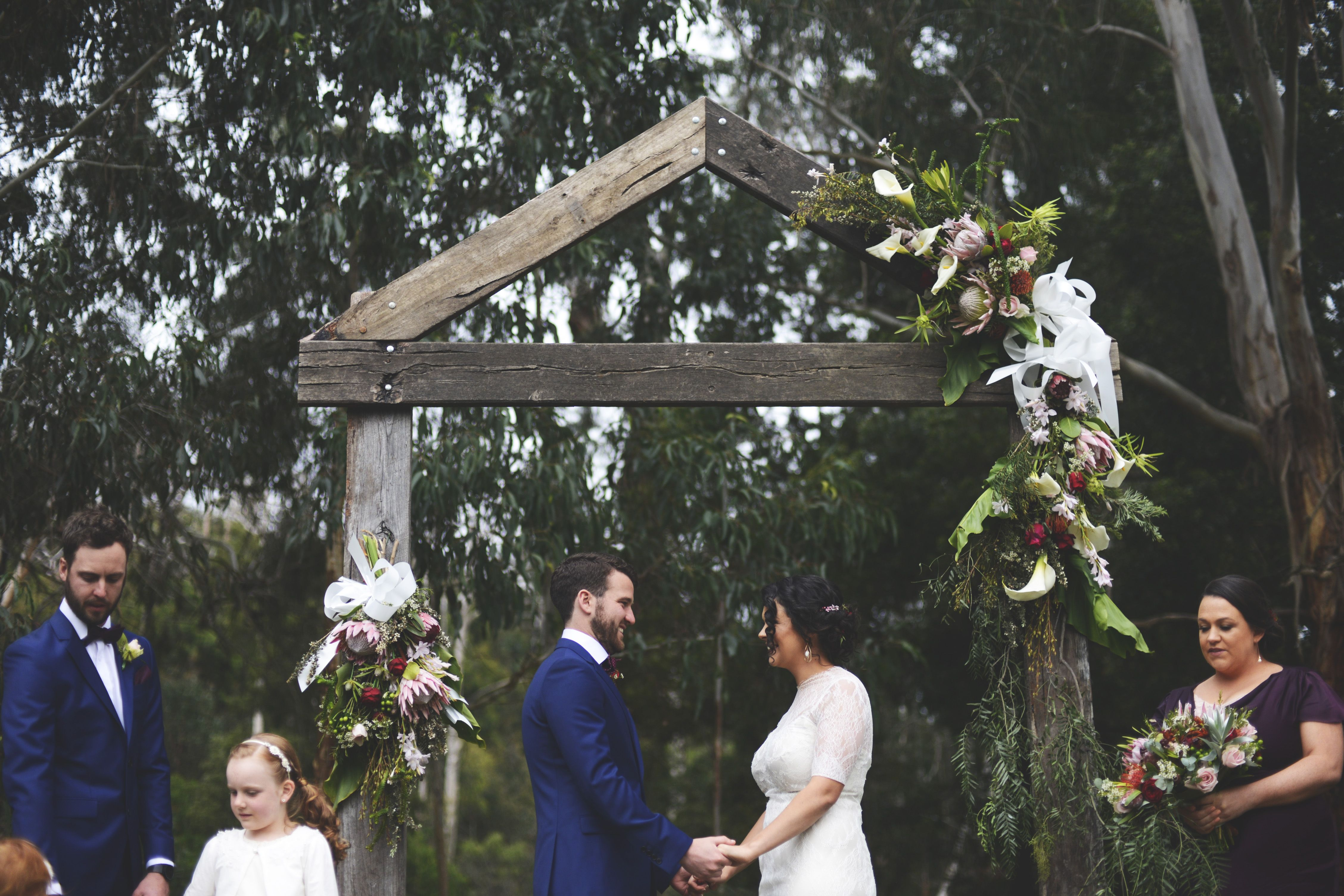 Wedding arbour / arch outdoor wedding
