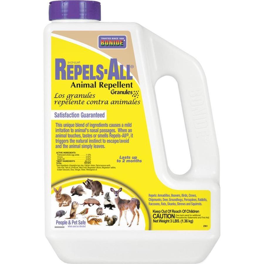 Bonide Repels All 3 Lb Granules Animal Repellent At Lowes Com