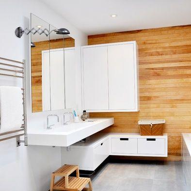 Le style scandinave dans la salle de bain
