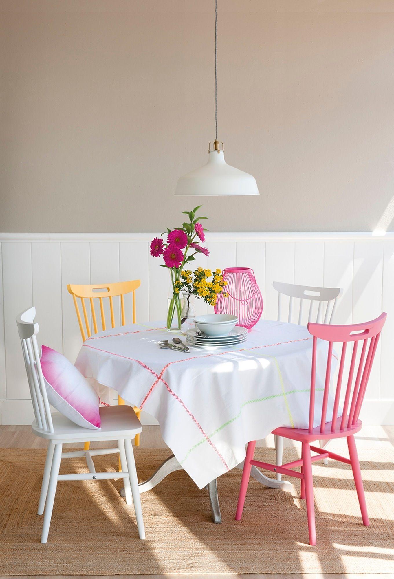 Comedor con zócalo de madera | Hogar Dulce hogar | Pinterest ...