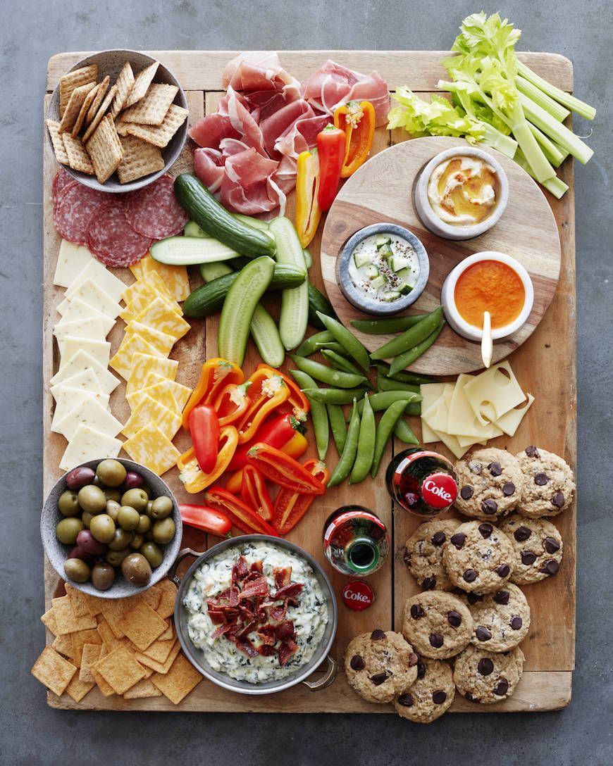 Salty and Sweet Snack Board is an easy but fun way to