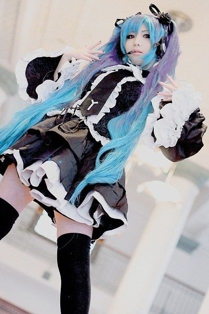 Vocaloid cosplay - Hatsune Miku - Infinite the Holic