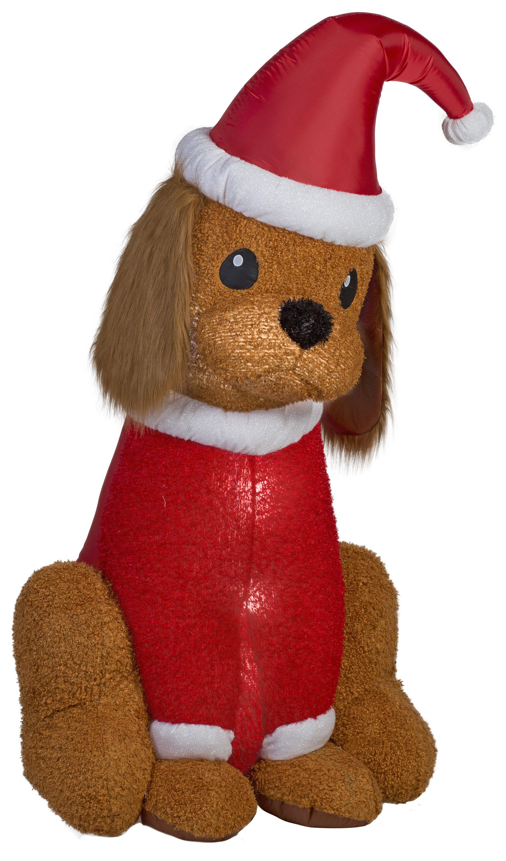 6 Airn Mixed Media Er Spaniel Christmas Inflatable