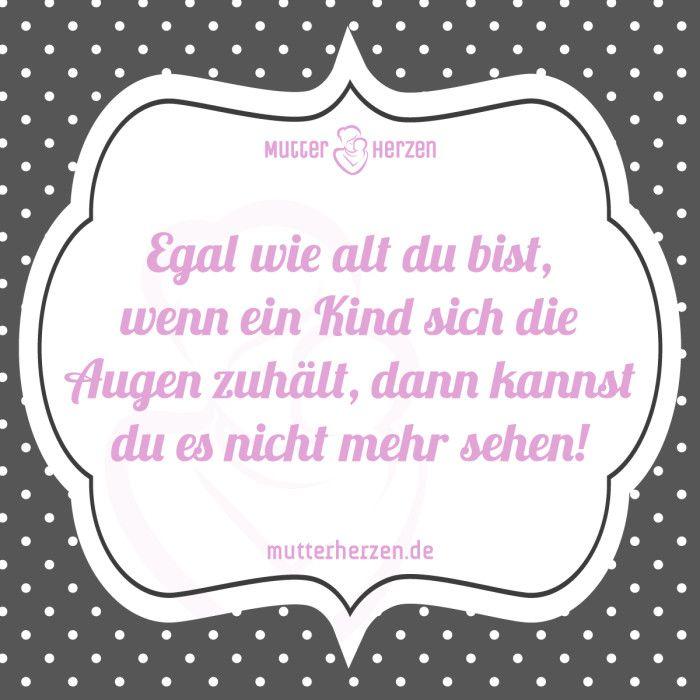 Mehr lustige Sprüche auf: www.mutterherzen.de #kind # ...