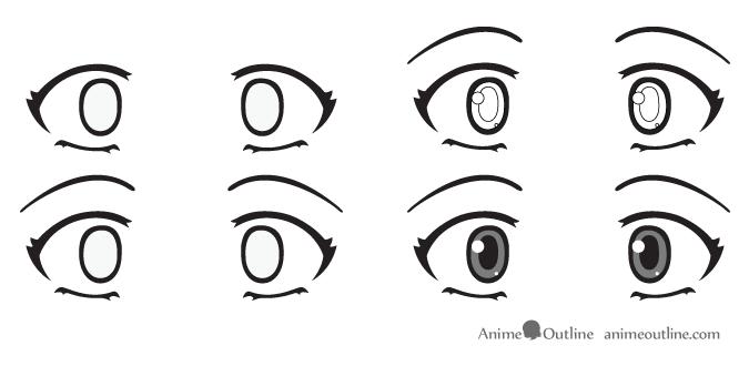Scared Anime Eyes Anime Eyes How To Draw Anime Eyes Eye Drawing