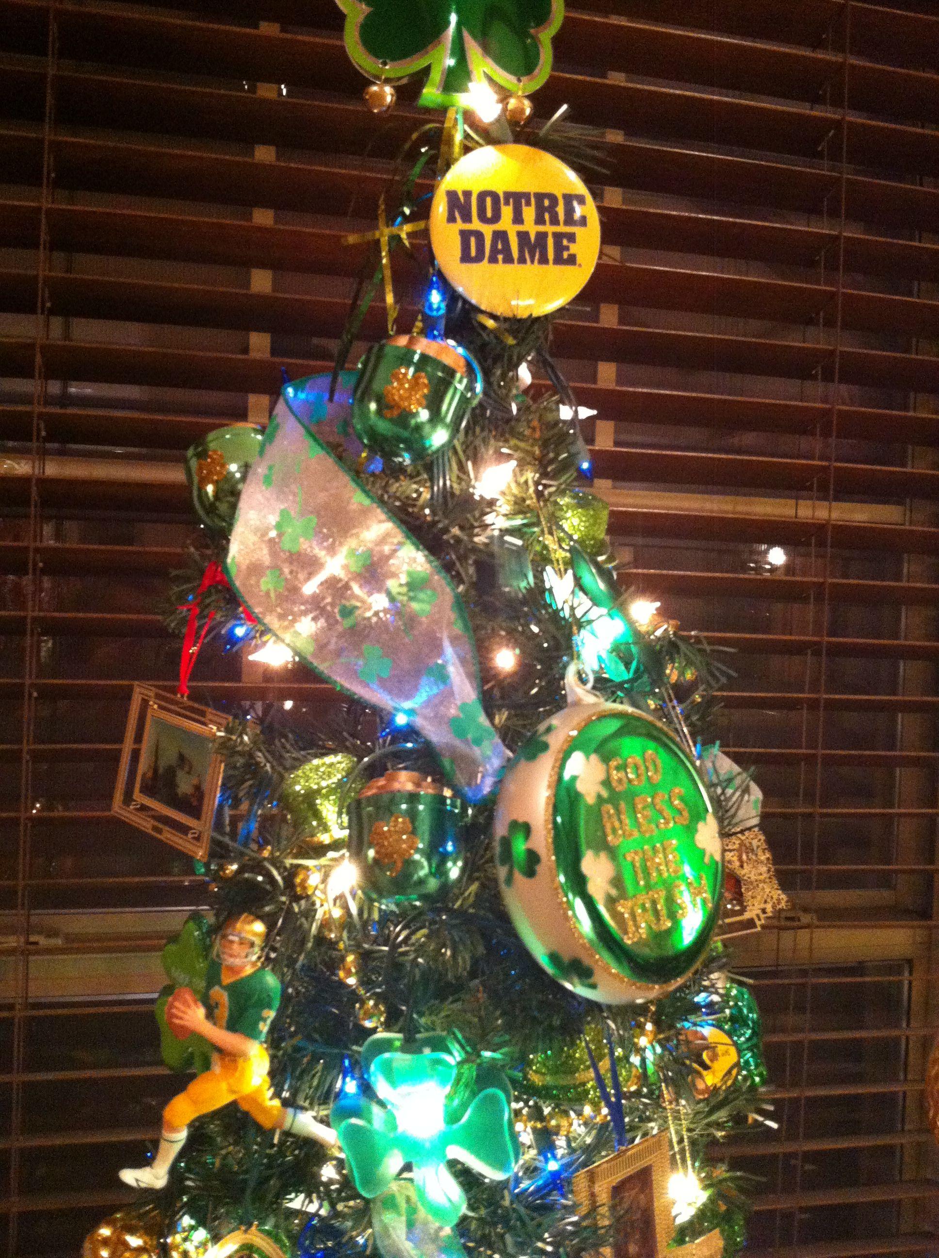 Notre Dame tree | Christmas | Pinterest | Christmas, Christmas Tree ...