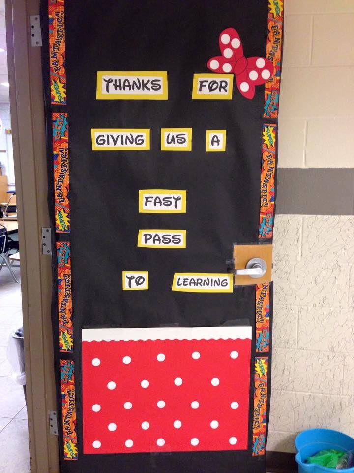 Classroom Design For Recognition ~ Teacher appreciation week door disney teaching is hard