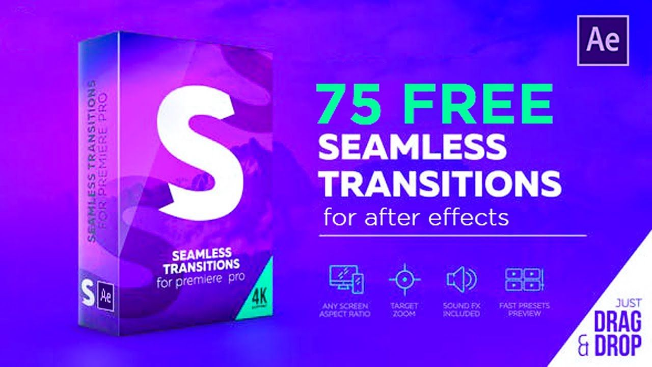 Handy Seamless Transitions Tutorial 75 Free Presets For After