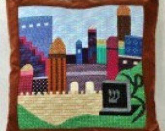 bordado lana sobre arpillera - Buscar con Google
