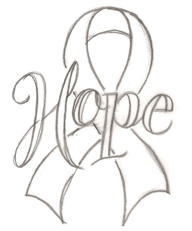 Pictures Coloring Breast Cancer Ribbon Coloring Pages In Breast - Breast-cancer-awareness-coloring-pages
