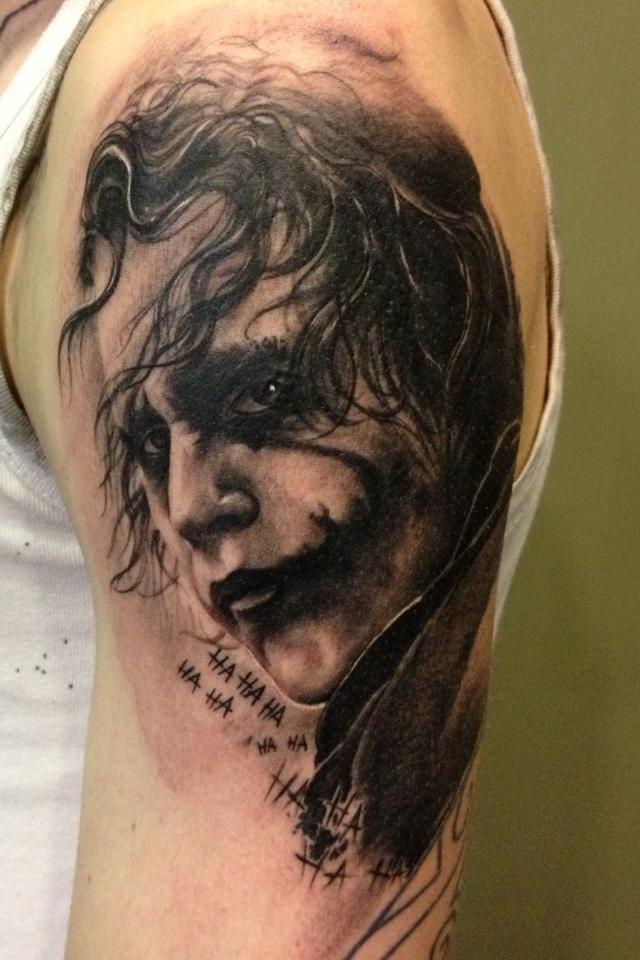 50 Verruckte Joker Tattoos Designs Und Ideen 8 5