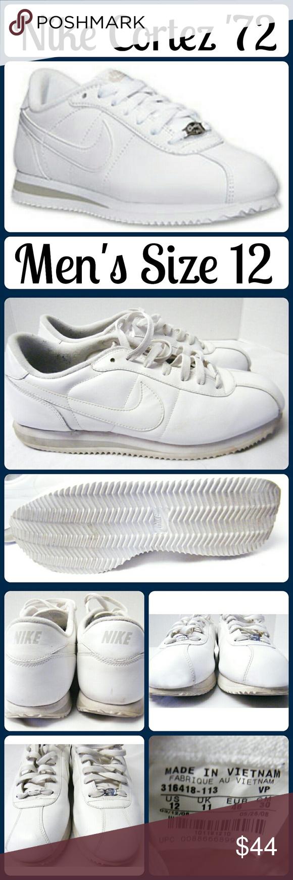 a6c8414dd327 ... netherlands mens sz 12 nike cortez 72 tennis shoes excellent new like  condition sz 12 ef62b