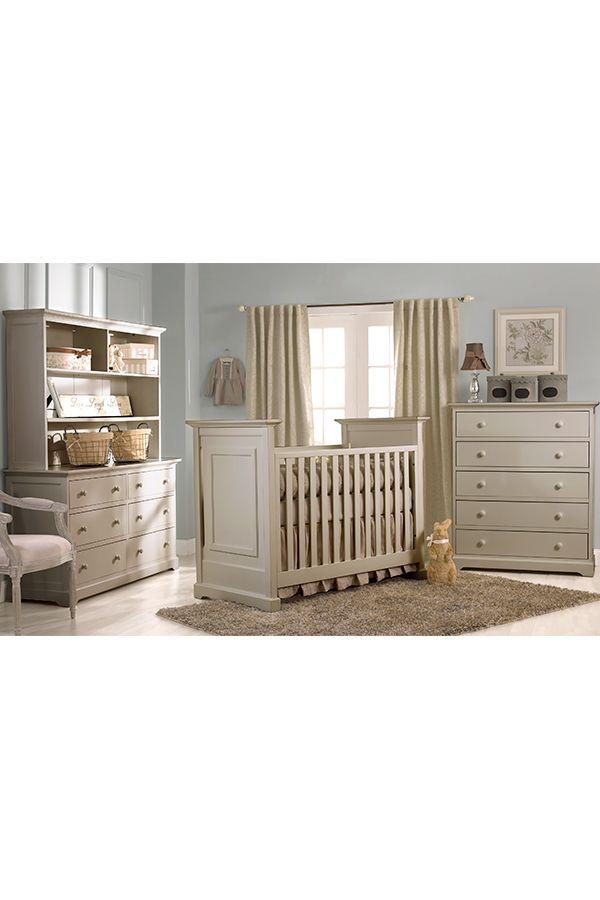 Centennial Chesapeake Clic Collection In Light Grey Crib Nursery