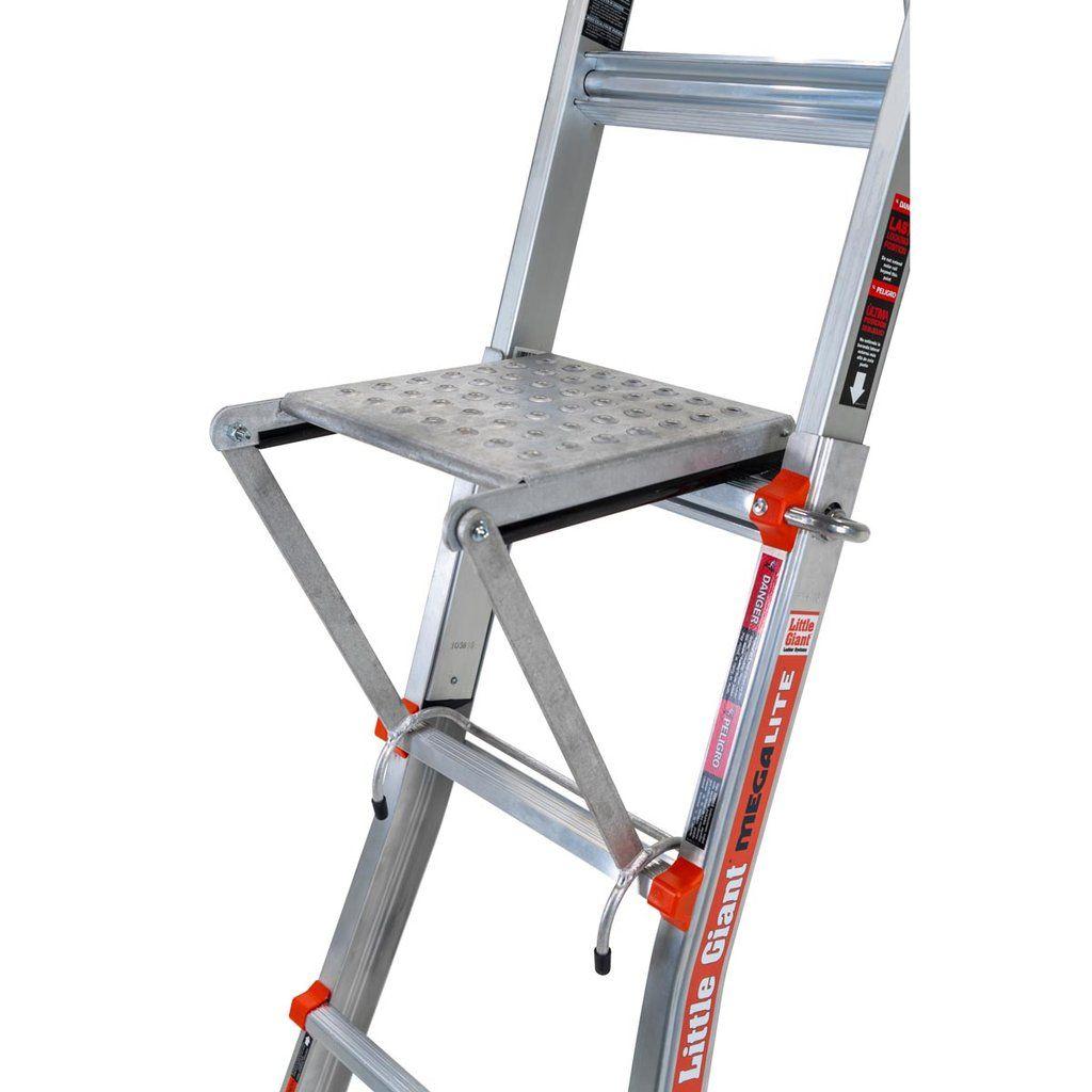 Little Giant Work Platform In 2020 Work Platform Ladder Accessories Little Giants