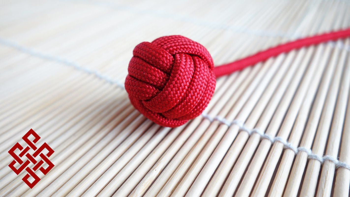 video tutorial  How to Make a Monkey s Fist with No Marble   Ball Bearing  Tutorial 45645d790
