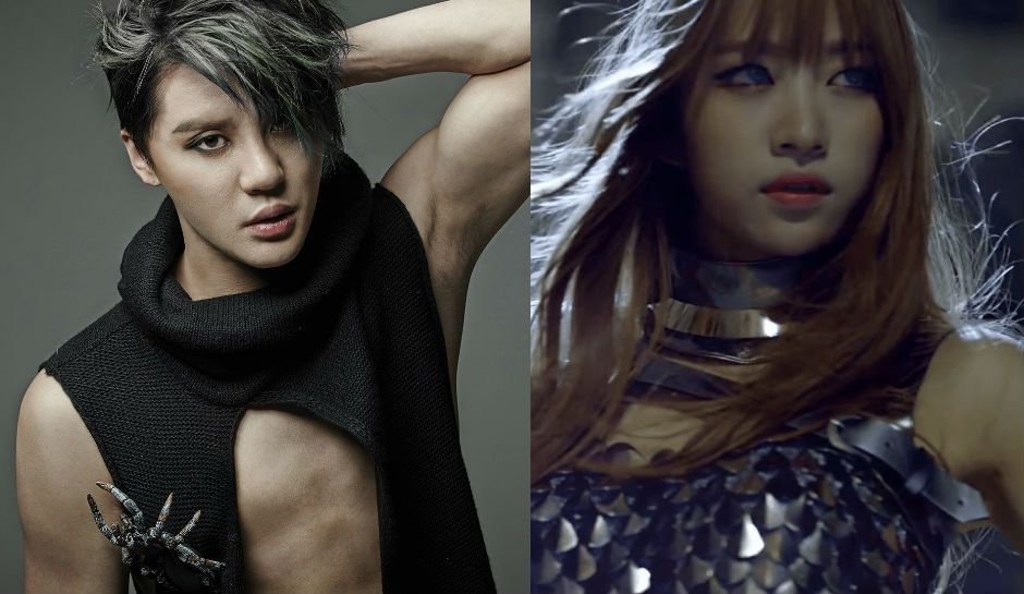 Junsu Of Jyj And Hani Of Exid Confirmed Dating Making Them First Official K Pop Idol Couple Of 2016 Jyj Kpop Idol