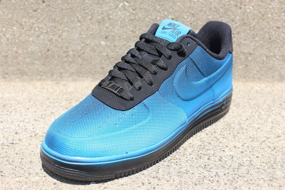 best sneakers 86d98 551e1 Nike Lunar Force 1 VT Mesh - 'Blue Hero / Black' | Sole Collector ...