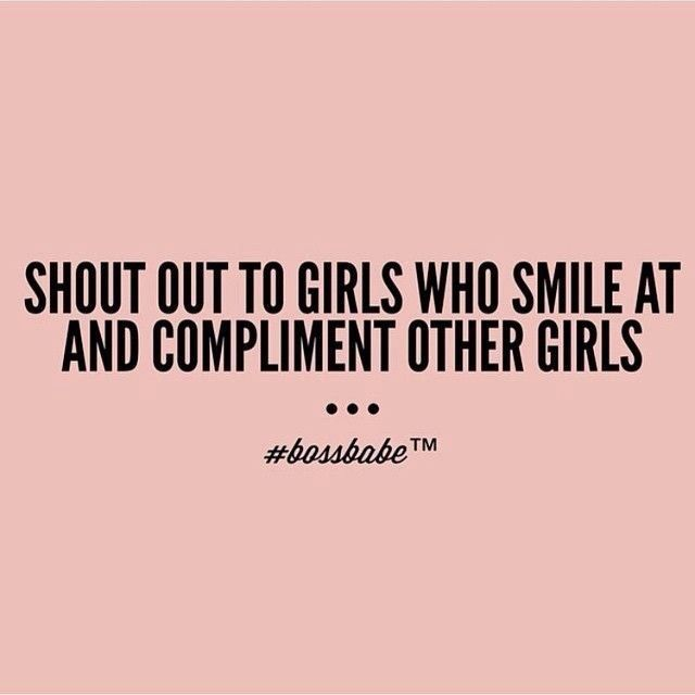 Girl Empowerment Quotes Awesome Lets Support Each Other By Building Each Other Up Not Tearing Each