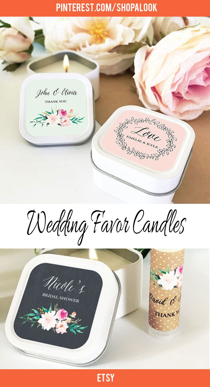 Wedding Favors Candles - Wedding Photography