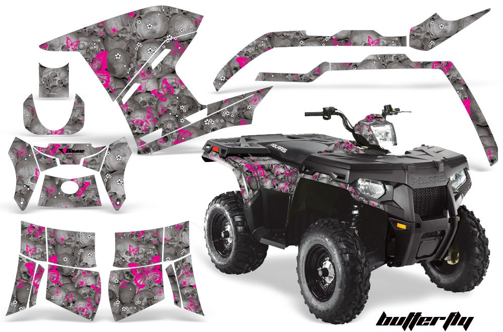 Polaris Atv Quad Graphic Sticker Kit For Sportsman 500 800 Polaris Atv Graphic Kit Polaris Atv Accessories