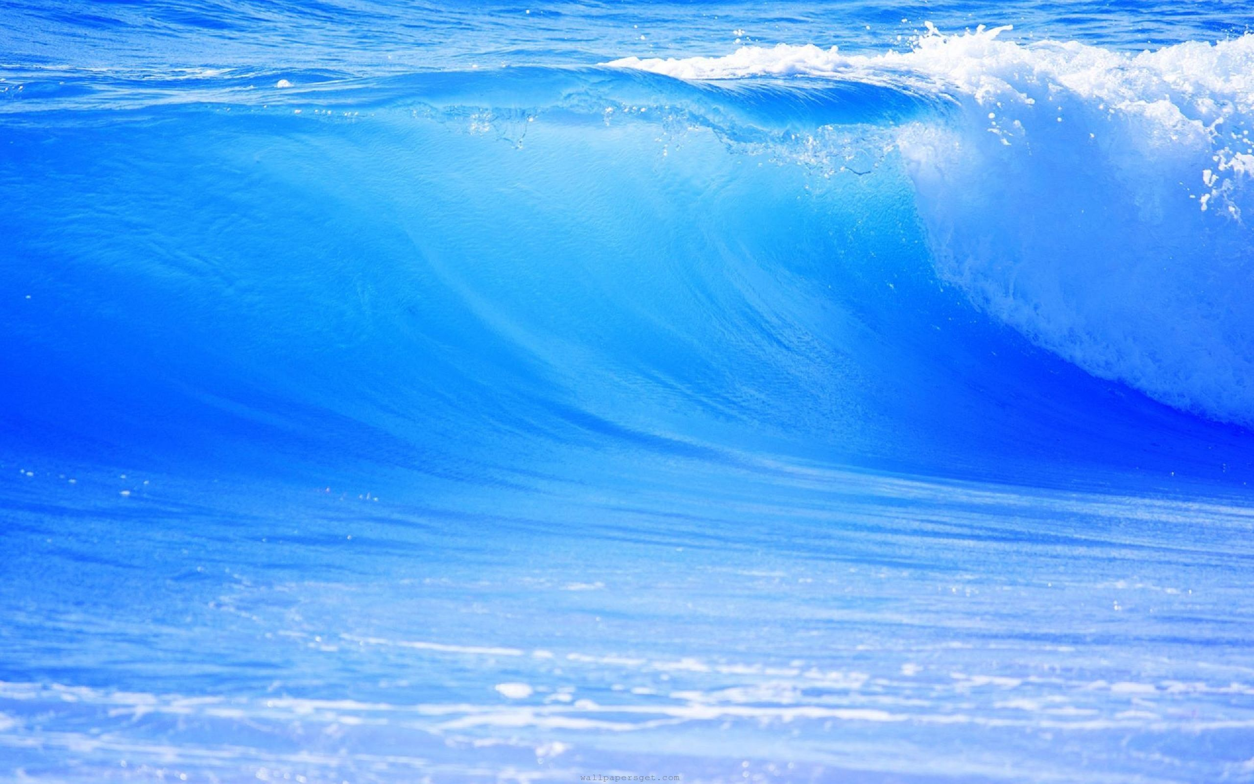 hd beautiful nature scenery wallpaper blue wave ocean ~ most