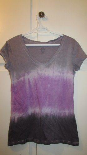b1d8bc44aa467 DIY Tri Color Tie Dye T-Shirt, Tutorial from Rit Studio   ᗪYEIᑎG ...