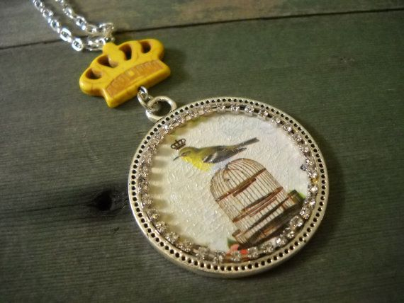Bird Cage by TheOmbrePoodle on Etsy