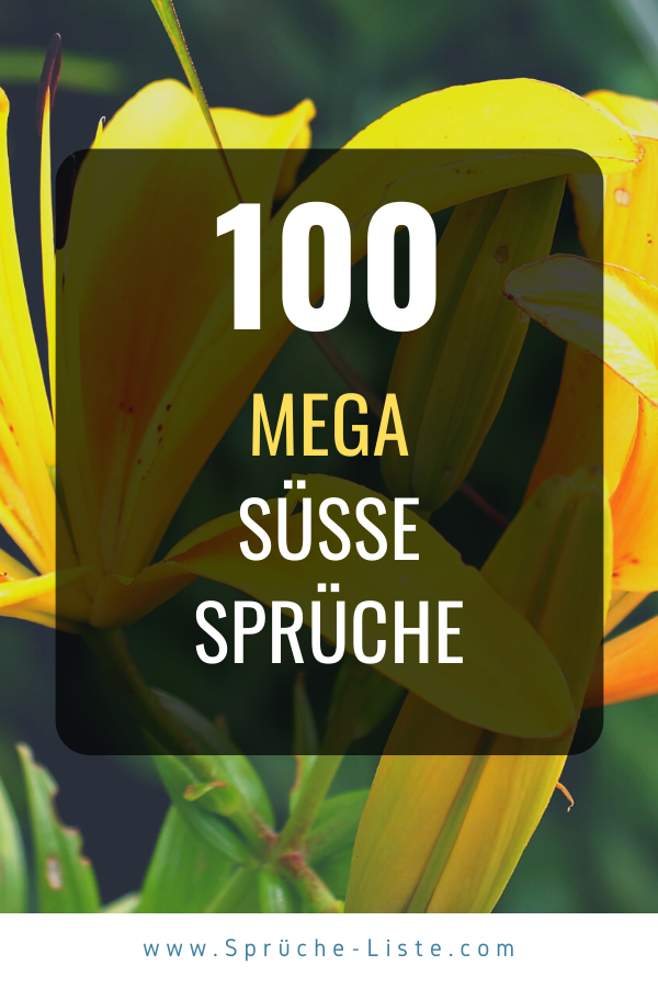 100 Mega süße Sprüche für Sie & Ihn | Süße sprüche