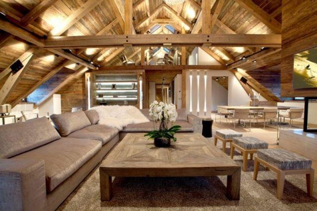 Iced winter maisonettewohnung wohnzimmer sitzgruppe 640 427 dachausbau - Sitzgruppe wohnzimmer ...