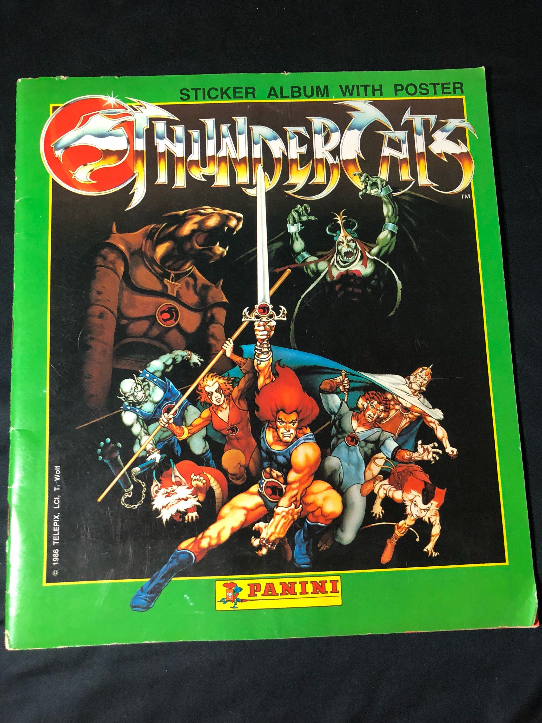 A Personal Favorite From My Etsy Shop Https Www Etsy Com Listing 585350429 1986 Thundercats Sticker Album With Sticker Album Thundercats Album [ 3000 x 2250 Pixel ]