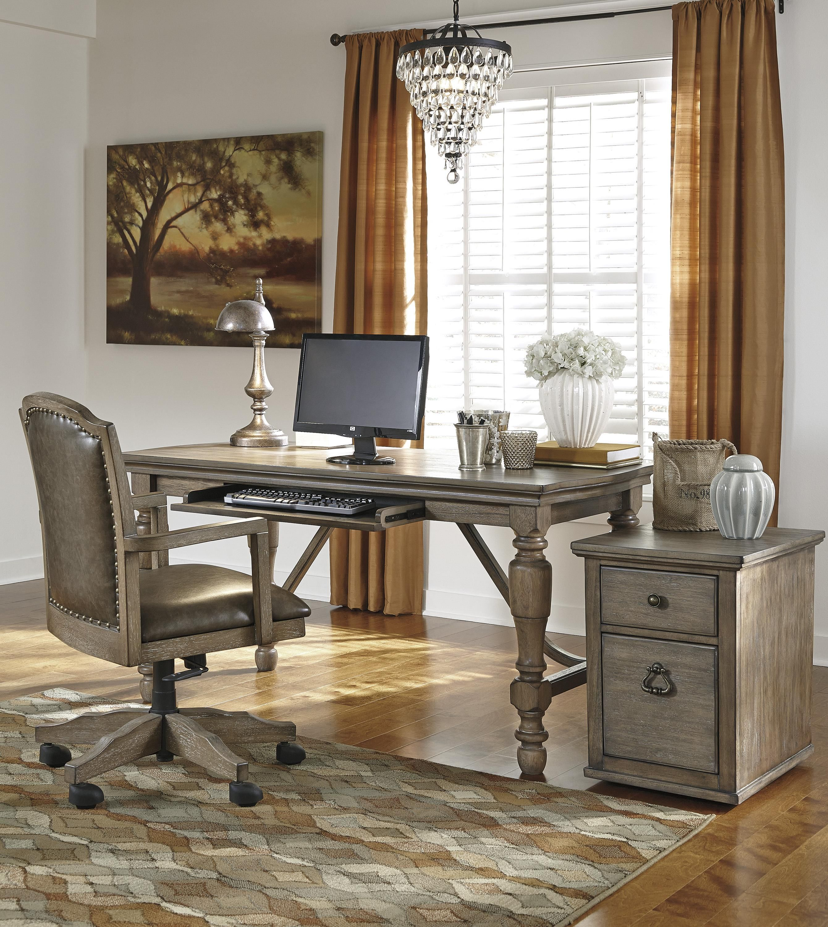 Ashley Tanshire Home office furniture sets, Home, Home