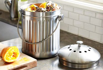 Countertop Compost Pail With Images Compost Pail Kitchen Compost Bin Compost Container