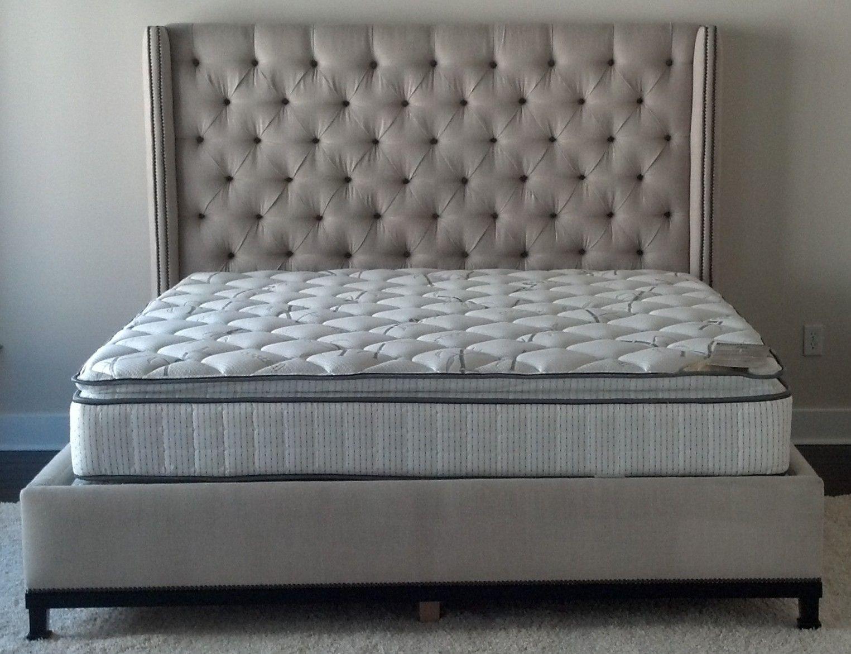 Patrick S Bed Diy Headboard Upholstered Tufted Bed Frame