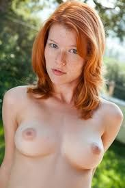 Redhead girls nude Little