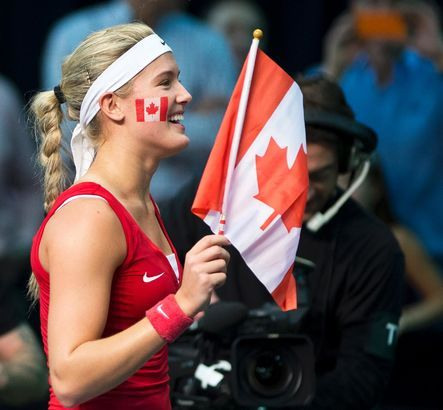 Dans Une Classe A Part Eugenie Bouchard Tennis Players Tennis World