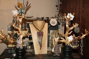 Gold Branches Boutique Jewelry Display Jewellery Display