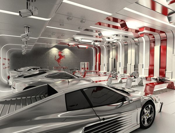 Garage Design Contest By Maserati: Ferrari Showroom Contest